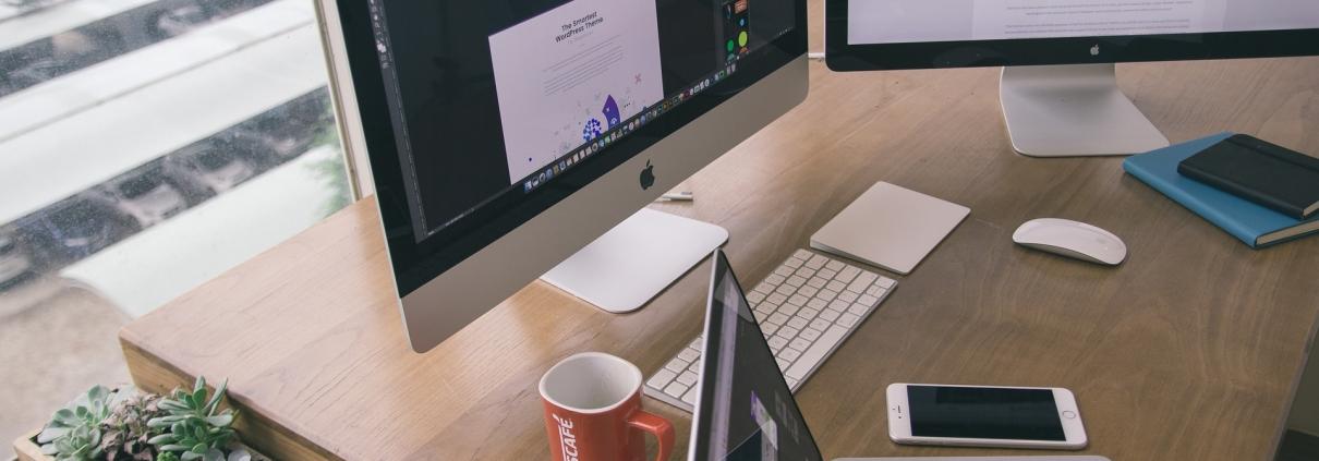 Vista della nostra web agency